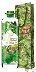 """la Maison du Rhum Discovery """" Paraguay """" plain Bio rum 45% vol.  0.70 l"""