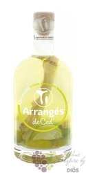 "Arrangés de Ced "" Citron and ginger "" flavored rum by Cédric Brément 32% vol.  0.70 l"