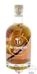 "Arrangés de Ced "" Mango and maracuja "" flavored rum by Cédric Brément 32% vol.0.70 l"