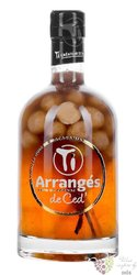 "Arrangés de Ced "" Vanilla and macadamia nuts "" flavored rum by Cédric Brément 32% vol.  0.70 l"