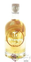 "Arrangés de Ced "" Orange and citron "" flavored rum by Cédric Brément 32% vol.  0.70 l"