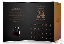 24 days Rum advent calendar  24 x 0.02 l