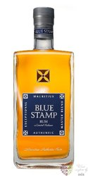 Blue Stamp aged Mauritian rum 42% vol.  0.70 l