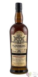 "Flensburg "" Barbados & Jamaica "" aged Caribbean rum 40% vol.  0.70 l"