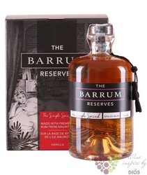 "Barrum "" Spiced vanila "" aged flavoured rum from Mauricius 40% vol.  0.70 l"