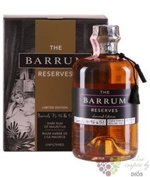 "Barrum "" Barrel "" aged rum from Mauricius 42% vol.  0.70 l"