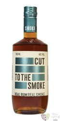 "Cut "" Smoke "" aged caribbean rum 40% vol.  0.70 l"