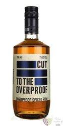 "Cut "" Overproof "" aged caribbean rum 75.5% vol.  0.70 l"