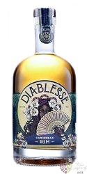 "Diablesse "" Golden "" aged blended Caribbean rum 40% vol.  0.70 l"