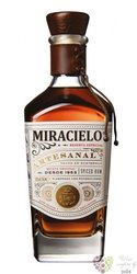 "Miracielo  "" Spiced "" aged rum of Guatemala 40% vol.  0.70 l"