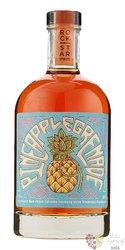 """Rock Star Spirits """" Pineapple Grenade """" overproof Spiced Guyanan rum 65% vol.  0.50 l"""