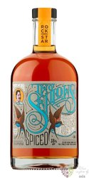 "RockStar Two Swallows "" Citrus & Salted Caramel "" spiced Guyanan rum 38% vol.  0.50 l"