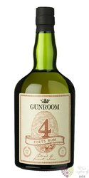 "Gunroom "" 4 Port´s "" aged Caribbean rum 40% vol.  0.70 l"