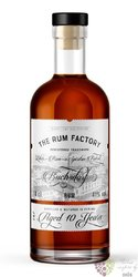 the Rum Factory 10 years aged Panamas rum 40% vol.  0.70 l