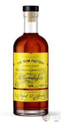 the Rum Factory 12 years aged Panamas rum 40% vol.  0.70 l