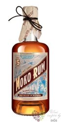 Moko aged 15 years Caribbean rum of Panama 42% vol.  0.70 l