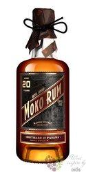 Moko aged 20 years Caribbean rum of Panama 42% vol.  0.70 l