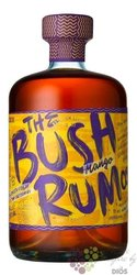 "the Bush "" Mango "" flavoured caribbean rum 35% vol.  0.70 l"