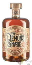 the Demons Share aged Caribbean rum of Panama  40% vol.  0.70 l