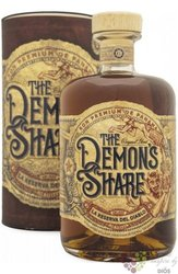 the Demons Share gift tube aged Caribbean rum of Panama 40% vol.  0.70 l