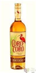 "Coro Coro "" Ron & Cacao "" Guetamalian liqueur 30% vol.  0.70 l"