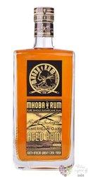 "Mhoba "" American Oak aged "" South African rum 43% vol.  0.70 l"