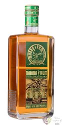 """Mhoba """" Franky´s Pineapple """" South African macarated rum 43% vol.  0.70 l"""