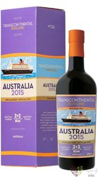 Transcontinental Rum Line 2015 Australia 48% vol.  0.70 l