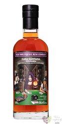 "Casa Santana "" that Boutique-y batch. "" aged 12 years Colombian rum 58.4% vol.  0.50 l"