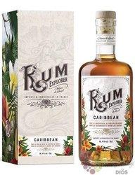 """Explorer Chateau du Breuil """" Caribbean """" aged rum 41% vol.  0.70 l"""