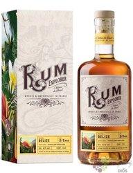 """Explorer Chateau du Breuil """" Travelers """" aged Belize rum 41% vol.  0.70 l"""