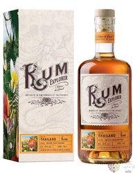 """Explorer Chateau du Breuil """" Pathum Thani Province """" aged Thailand rum 42% vol.  0.70 l"""