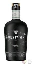Tres Paises blended Caribbean rum 40% 0.70 l