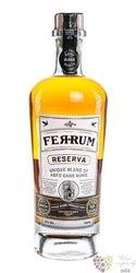 "FerRum "" Reserva "" blended Caribbean rum 40% vol.  0.70 l"