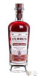 "FerRum "" Elixir Cherry "" flavoured Caribbean rum 35% vol.  0.70 l"