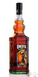 Omerta flavored Jamaican rum 35% vol.  0.70 l