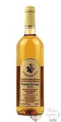 Tramín červený 2013 výběr z hroznů Sedlecká vína  0.75 l