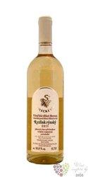 Ryzlink rýnský 2013 pozdní sběr Sedlecká vína  0.75 l