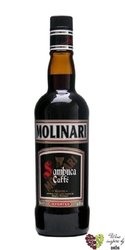"Sambuca "" Caffe "" Italian anise liqueur by Molinari 40% vol.  1.00 l"