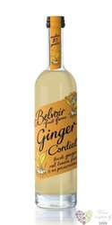 "Belvoir cordial "" Ginger "" English coctail syrup 00% vol.    0.50 l"