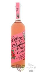 "Belvoir cordial "" Elderflower & Rose presse "" English coctail syrup 00% vol.  0.50 l"