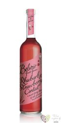 """Belvoir cordial """" Rhubarb & Strawberry """" English coctail syrup 00% vol.    0.50l"""
