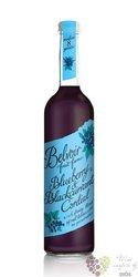 "Belvoir cordial "" Blueberry & Blackcurrant "" English coctail syrup 00% vol.    0.50 l"