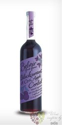 "Belvoir cordial "" Blackcurrant & Cox Apple "" English coctail syrup 00% vol.  0.50 l"