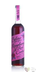 "Belvoir cordial "" Raspberry & Rose "" English coctail syrup 00% vol.    0.50 l"