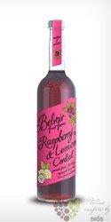 """Belvoir cordial """" Raspberry & Lemon """" English coctail syrup 00% vol.    0.50 l"""