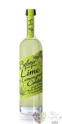 """Belvoir cordial """" Lime & Lemongrass """" English coctail syrup 00% vol.    0.50 l"""