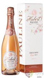 "Hubert rose "" Pauline "" brut extra Slovakia sparklin wine    0.75 l"
