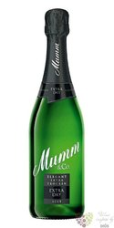 Mumm & Co extra dry Rheingau German sparkling wine  0.75 l