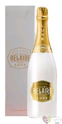 """Luc Belaire Bourgogne Chablis blanc """" Luxe """" demi sec ice style wine gift box  0.75 l"""